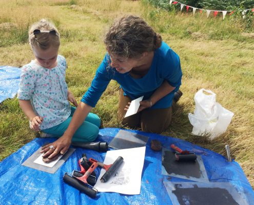 Clay printmaking with Sara Trillo (TP)